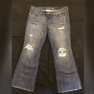 American Eagle Distressed Boot Cut